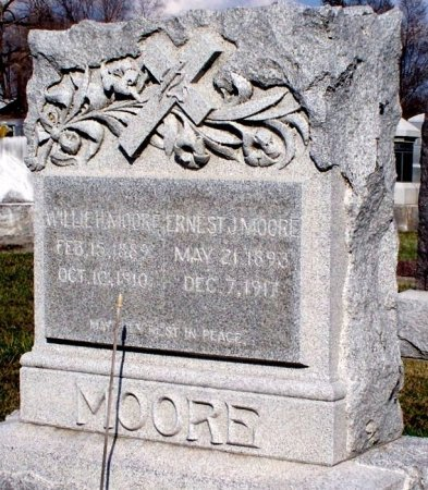 MOORE, EARNEST JOSEPH (VETERAN WWI) - Adair County, Missouri | EARNEST JOSEPH (VETERAN WWI) MOORE - Missouri Gravestone Photos