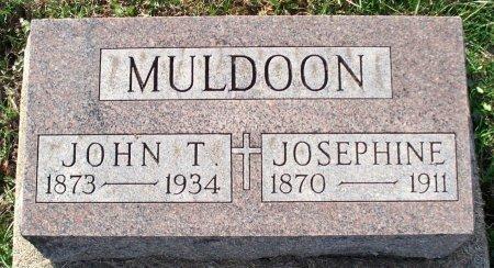 MULDOON, JOHN T - Adair County, Missouri   JOHN T MULDOON - Missouri Gravestone Photos
