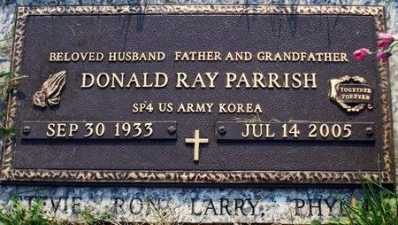 PARRISH, DONALD RAY (VETERAN KOREA) - Adair County, Missouri | DONALD RAY (VETERAN KOREA) PARRISH - Missouri Gravestone Photos
