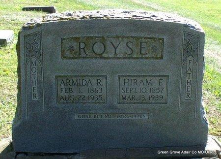 ROYSE, ARMIDA R - Adair County, Missouri   ARMIDA R ROYSE - Missouri Gravestone Photos
