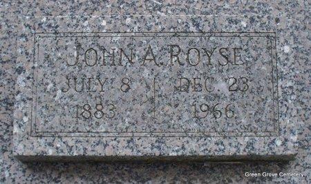 ROYSE, JOHN A - Adair County, Missouri | JOHN A ROYSE - Missouri Gravestone Photos
