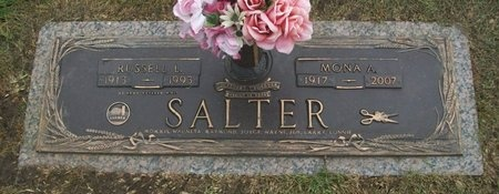 SALTER, MONA ALEEN - Adair County, Missouri | MONA ALEEN SALTER - Missouri Gravestone Photos