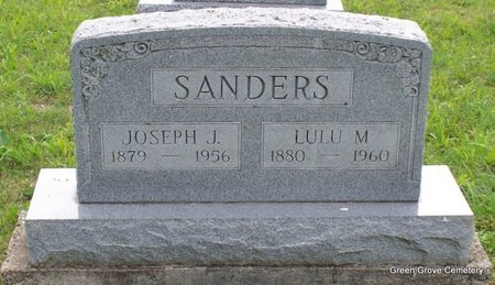 SANDERS, JOSEPH J - Adair County, Missouri | JOSEPH J SANDERS - Missouri Gravestone Photos
