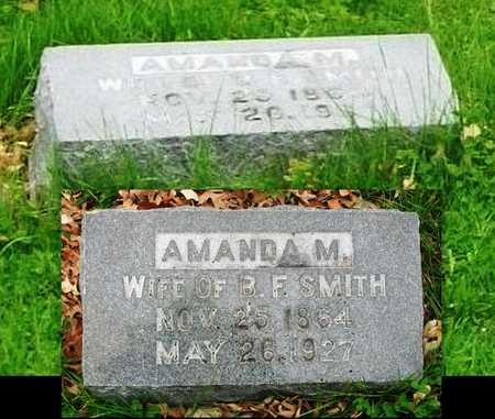 SMITH, AMANDA MAY - Adair County, Missouri | AMANDA MAY SMITH - Missouri Gravestone Photos