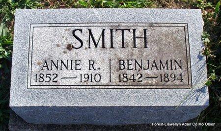 SMITH, ANNIE R - Adair County, Missouri | ANNIE R SMITH - Missouri Gravestone Photos