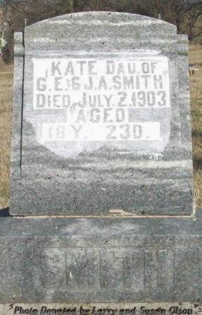 SMITH, KATE - Adair County, Missouri | KATE SMITH - Missouri Gravestone Photos