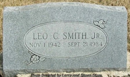 SMITH, LEO C. JR. - Adair County, Missouri | LEO C. JR. SMITH - Missouri Gravestone Photos
