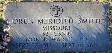 SMITH, OREN MERIDITH (VETERAN WWII) - Adair County, Missouri | OREN MERIDITH (VETERAN WWII) SMITH - Missouri Gravestone Photos