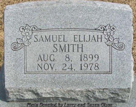 SMITH, SAMUEL ELIJAH - Adair County, Missouri   SAMUEL ELIJAH SMITH - Missouri Gravestone Photos