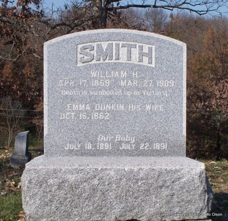 SMITH, BABY DAUGHTER - Adair County, Missouri | BABY DAUGHTER SMITH - Missouri Gravestone Photos
