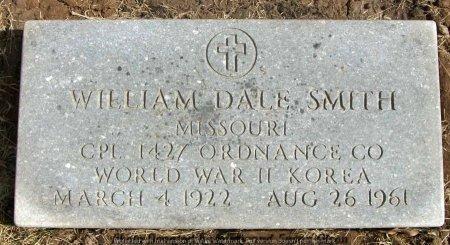 SMITH, WILLIAM DALE (VETERAN WWII KOREA) - Adair County, Missouri   WILLIAM DALE (VETERAN WWII KOREA) SMITH - Missouri Gravestone Photos