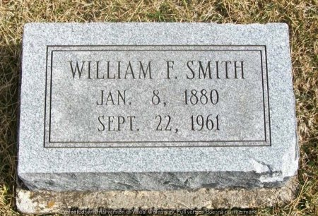 SMITH, WILLIAM FRANKLIN - Adair County, Missouri | WILLIAM FRANKLIN SMITH - Missouri Gravestone Photos