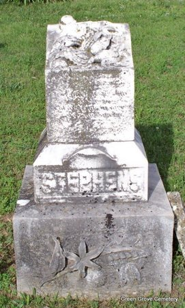 STEPHENS, ISAAC B (FRONT VIEW) - Adair County, Missouri | ISAAC B (FRONT VIEW) STEPHENS - Missouri Gravestone Photos
