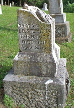 WOODS STEPHENS, NACY A - Adair County, Missouri | NACY A WOODS STEPHENS - Missouri Gravestone Photos