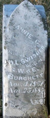 SWISHER, FANNIE C. - Adair County, Missouri | FANNIE C. SWISHER - Missouri Gravestone Photos