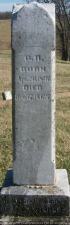 SWISHER, GILBERT RUSSELL  - Adair County, Missouri | GILBERT RUSSELL  SWISHER - Missouri Gravestone Photos