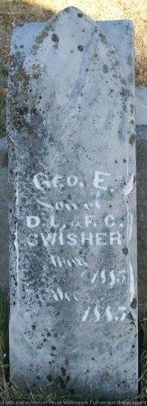 SWISHER, GEORGE E. - Adair County, Missouri | GEORGE E. SWISHER - Missouri Gravestone Photos
