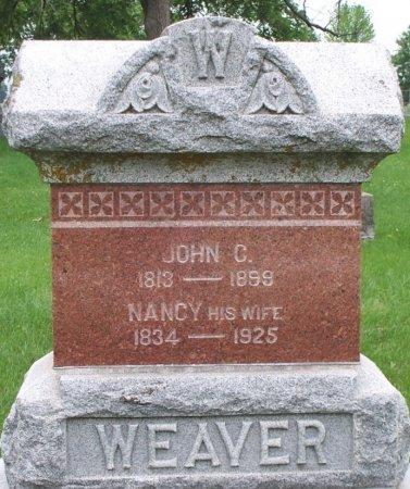 WEAVER, NANCY - Adair County, Missouri | NANCY WEAVER - Missouri Gravestone Photos