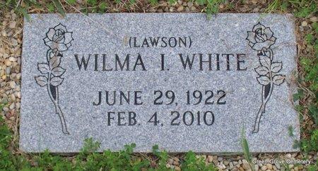 LAWSON WHITE, WILMA I - Adair County, Missouri | WILMA I LAWSON WHITE - Missouri Gravestone Photos