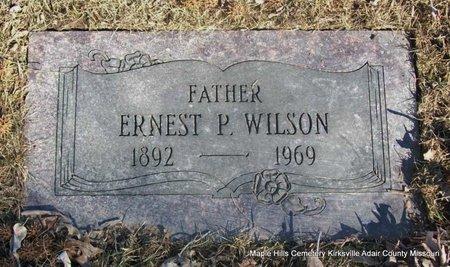 WILSON, ERNEST P - Adair County, Missouri | ERNEST P WILSON - Missouri Gravestone Photos