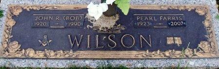 WILSON, PEARL FARRIS - Adair County, Missouri | PEARL FARRIS WILSON - Missouri Gravestone Photos