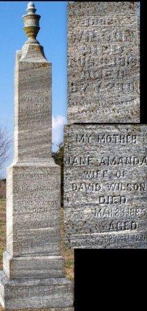 "WILSON, PHOEBE JANE ""JENNIE"" - Adair County, Missouri | PHOEBE JANE ""JENNIE"" WILSON - Missouri Gravestone Photos"