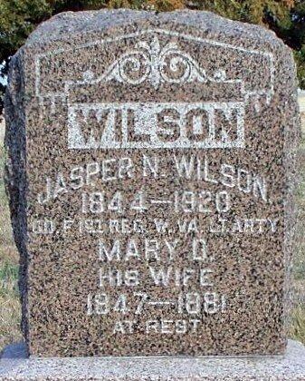 WILSON, JASPER N. (VETERAN CW) - Adair County, Missouri | JASPER N. (VETERAN CW) WILSON - Missouri Gravestone Photos
