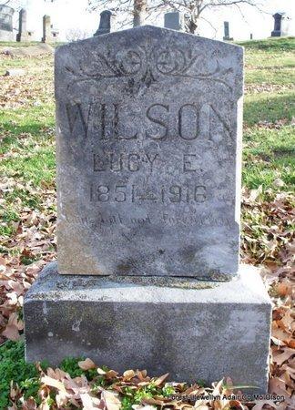 WILSON, LUCY ELLEN - Adair County, Missouri | LUCY ELLEN WILSON - Missouri Gravestone Photos