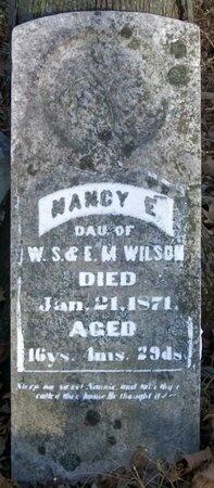 WILSON, NANCY E - Adair County, Missouri | NANCY E WILSON - Missouri Gravestone Photos