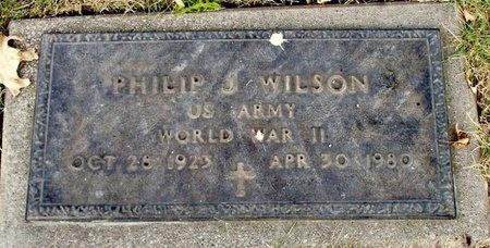 WILSON, PHILIP JOSEPH (VETERAN WWII) - Adair County, Missouri | PHILIP JOSEPH (VETERAN WWII) WILSON - Missouri Gravestone Photos