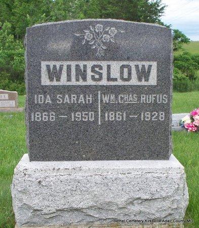 WINSLOW, IDA SARAH - Adair County, Missouri | IDA SARAH WINSLOW - Missouri Gravestone Photos