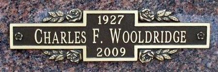 WOOLDRIDGE, CHARLES FLOURNOY - Adair County, Missouri | CHARLES FLOURNOY WOOLDRIDGE - Missouri Gravestone Photos