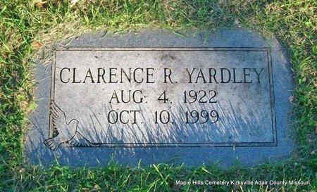 YARDLEY, CLARENCE RUEBEN - Adair County, Missouri | CLARENCE RUEBEN YARDLEY - Missouri Gravestone Photos