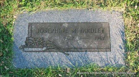YARDLEY, JOSEPHINE M - Adair County, Missouri | JOSEPHINE M YARDLEY - Missouri Gravestone Photos