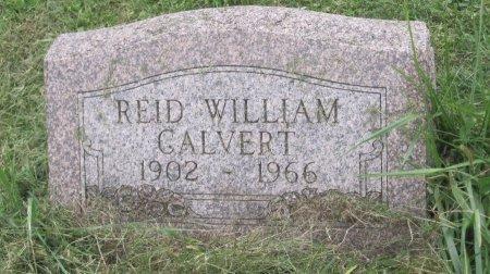 CALVERT, REID WILLIAM - Andrew County, Missouri | REID WILLIAM CALVERT - Missouri Gravestone Photos