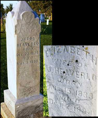 HEAVERLO, JACOB - Andrew County, Missouri | JACOB HEAVERLO - Missouri Gravestone Photos