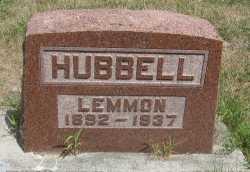 HUBBELL, LEMMON - Andrew County, Missouri | LEMMON HUBBELL - Missouri Gravestone Photos