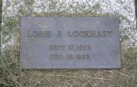 PITTSENBARGER LOCKHART, LORIE P. - Andrew County, Missouri | LORIE P. PITTSENBARGER LOCKHART - Missouri Gravestone Photos