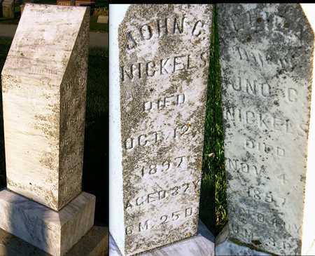 NICKELS, ELIZA - Andrew County, Missouri   ELIZA NICKELS - Missouri Gravestone Photos