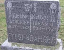 PITSENBARGER, HIRAM JACKSON - Andrew County, Missouri | HIRAM JACKSON PITSENBARGER - Missouri Gravestone Photos