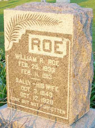 ROE, SALLY - Andrew County, Missouri | SALLY ROE - Missouri Gravestone Photos