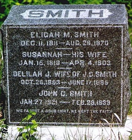 GOFORTH SMITH, DELILAH JANE - Andrew County, Missouri | DELILAH JANE GOFORTH SMITH - Missouri Gravestone Photos