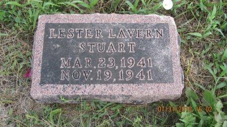 STUART, LESTER LAVERN - Andrew County, Missouri | LESTER LAVERN STUART - Missouri Gravestone Photos