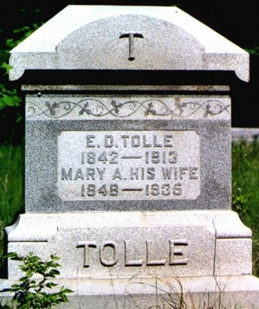 TOLLE, MARY ANGELINE - Andrew County, Missouri | MARY ANGELINE TOLLE - Missouri Gravestone Photos