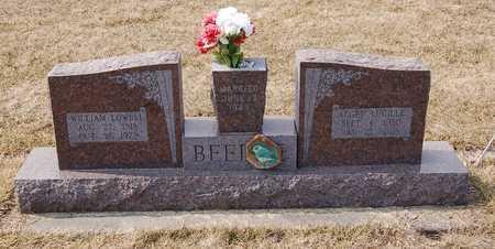 FREELS BEEDLE, ALGEN LUCILLE - Audrain County, Missouri | ALGEN LUCILLE FREELS BEEDLE - Missouri Gravestone Photos