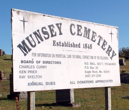 *, CEMETERY SIGN - Barry County, Missouri | CEMETERY SIGN * - Missouri Gravestone Photos