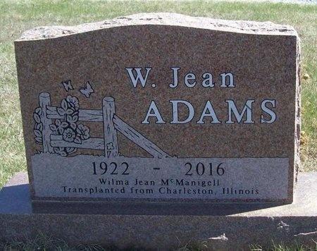 ADAMS, WILMA JEAN - Barry County, Missouri | WILMA JEAN ADAMS - Missouri Gravestone Photos