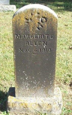 ALLEN, MARGERITE - Barry County, Missouri   MARGERITE ALLEN - Missouri Gravestone Photos