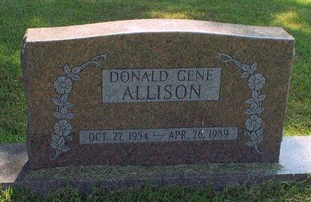 ALLISON, DONALD GENE - Barry County, Missouri | DONALD GENE ALLISON - Missouri Gravestone Photos