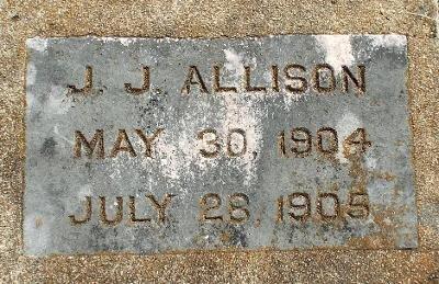 ALLISON, J. J. - Barry County, Missouri | J. J. ALLISON - Missouri Gravestone Photos